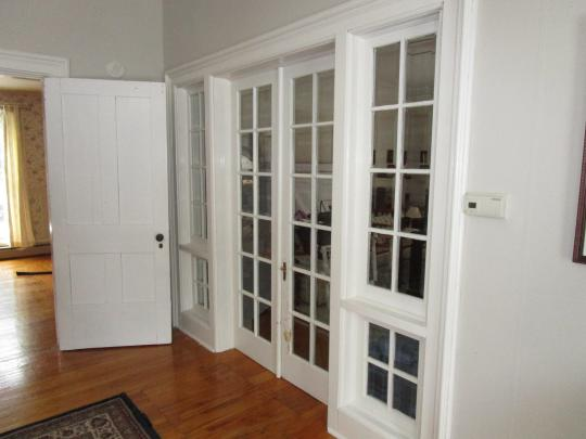 Doors to 2nd Living room